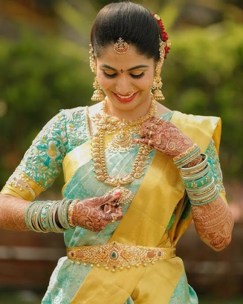 Top 40+ Authentic Wedding Maggam Blouses For Every Bride's to be
