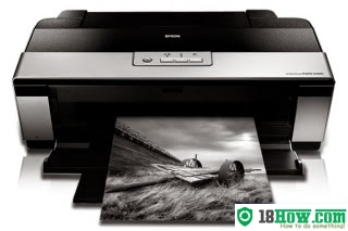 How to reset flashing lights for Epson R2880 printer