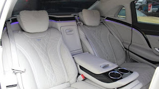 Lewis Hamilton's 2015 Mercedes-Maybach S600 for sale