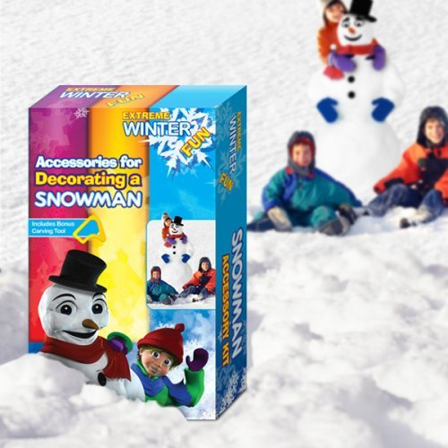 Snowman crafts Kit -- Build Your Own Snowman, and Dress Him UP