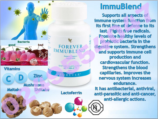 forever immublend to improve active probioctics