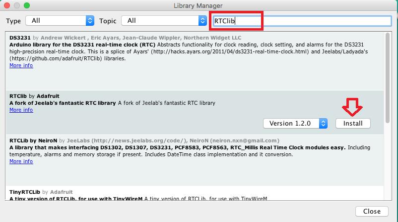 Interfacing RTC DS3231 I2C dengan ESP32