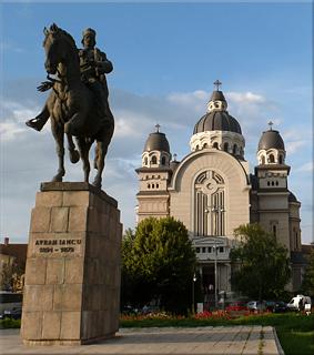 Estatua ecuestre de Avram Iancu - Târgu Mureş