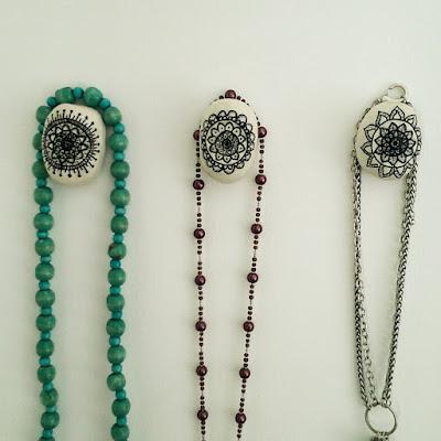 jewelry hanger, clay craft,