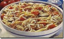 Spaghetti cozze e parmigiano