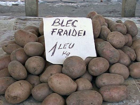 blec fraidei Black Friday ... şi prin pieţele româneşti