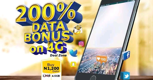 MTN Giving 200% Data Bonus To Subscribers - How To Be Eligible