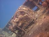 Wreck of Ghiannis D. - Windlass (© 2007 Bernd Neeser)