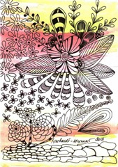 622 Zentangle Summer