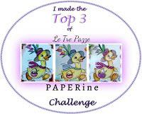 Aurora Top3 al challenge delle 3Pazze Paperine!!