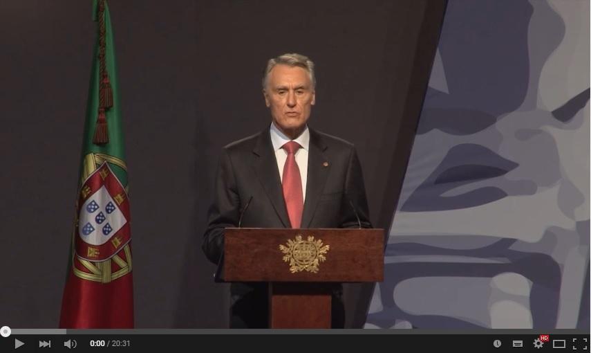 Vídeo - Presidente Cavaco Silva na Sessão Solene do Dia de Portugal em Lamego