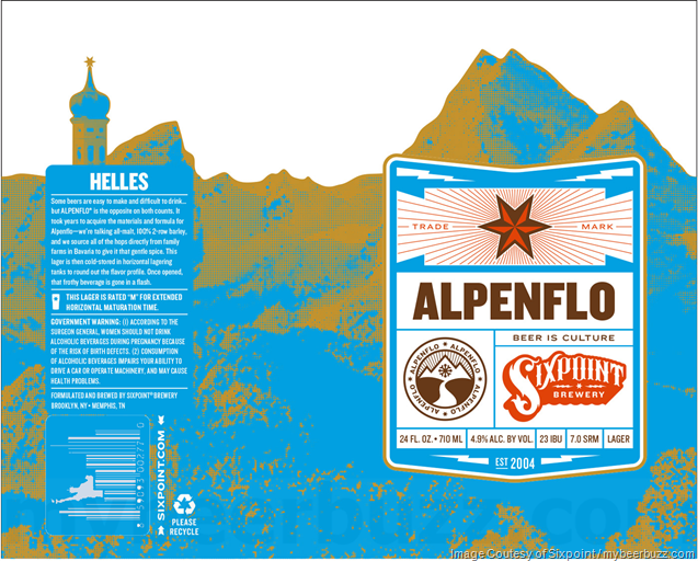 Sixpoint Adding NEW Alpenflo Helles 24oz & 12oz Cans