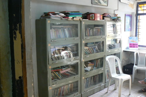 Humsafar drop-in center library.