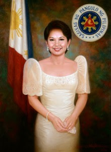 Gloria Macapagal-Arroyo painting