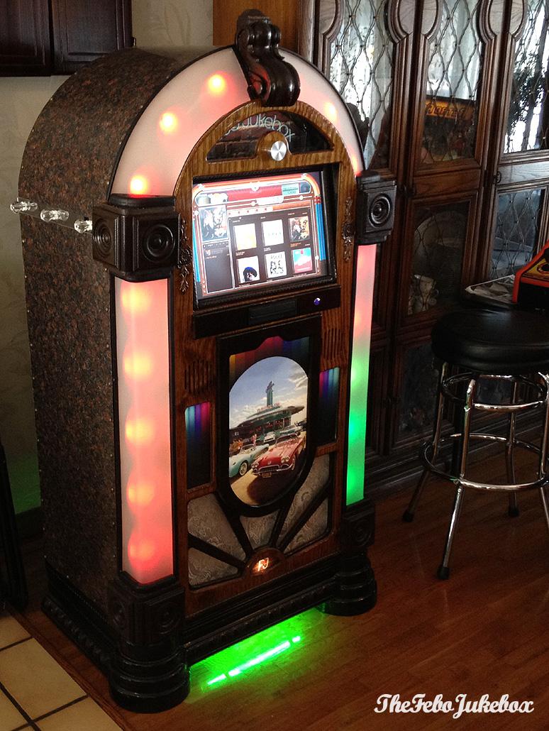 TheFeboJukebox - Custom Wurlitzer / Rock-Ola style Jukebox Project