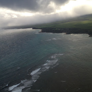 Maui and Molokai from Above