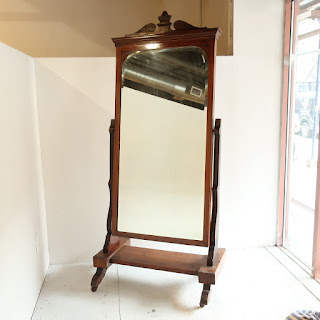 Antique Floor Mirror