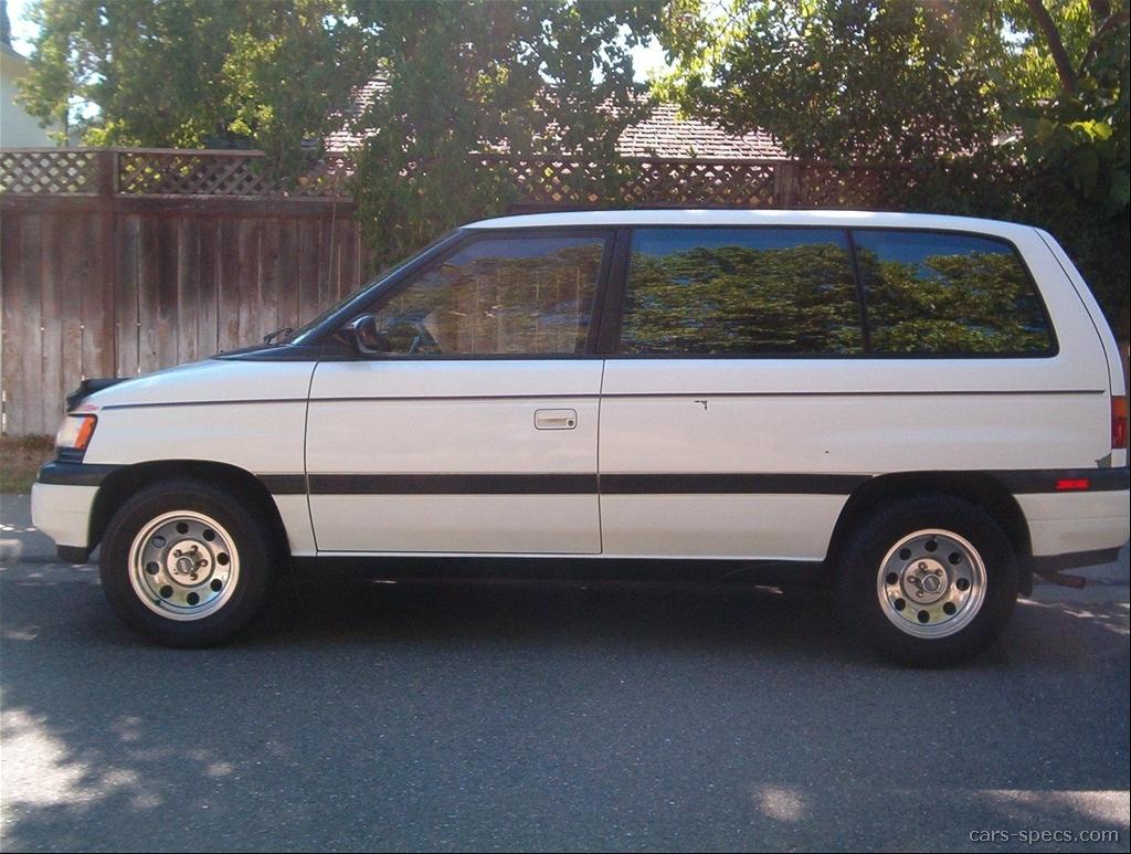 1995 mazda mpv lx passenger minivan 3 0l v6 4 speed automatic