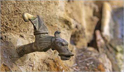 Archimedes - Das Hebelgesetz am Beispiel eines Wasserhahns