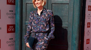 Jodie Whittaker saving Doctor Who binge