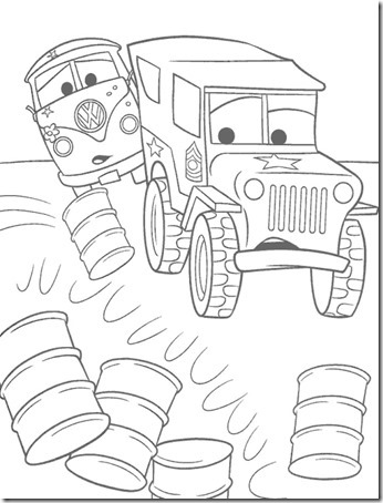 cars jugarycolorear net (12)