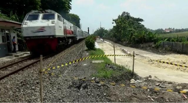 Proyek Dobel Track KA Jombang- Madiun Ditarget Tuntas 2018