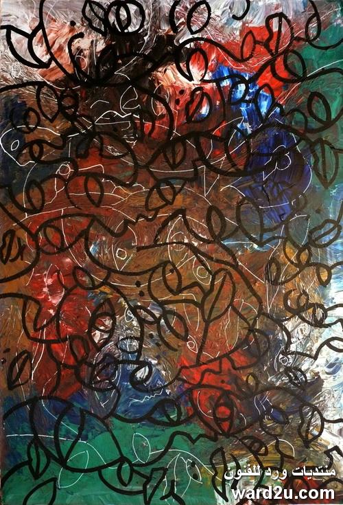 وجوه وخيوط للفنان  Christophe Alzetto