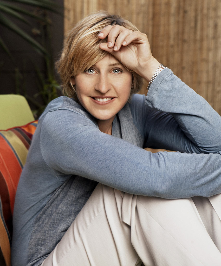 Girly World : Ellen DeGeneres