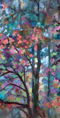 """The """"Edge of the Woods"""" piece from the """"2002"""" collection"""