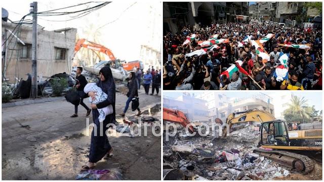 Serangan Udara Israel Bunuh 33 Orang Palestin termasuk kanak-kanak