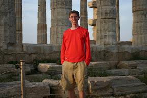 At the Temple of Poseidon, Cape Sounion