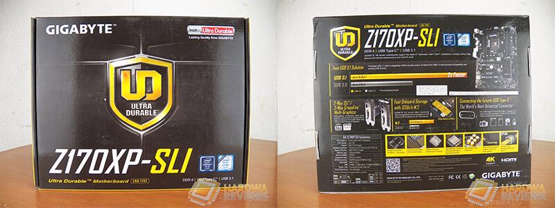 Gigabyte Z170XP-SLI empaque