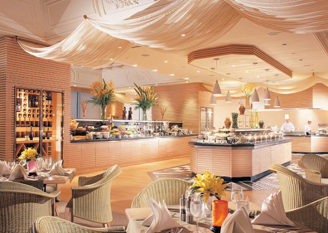 Thiết kế nội thất phòng ăn khách sạn 5 sao