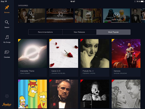 flowkey: Learn Piano 1.6.0 screenshots 13