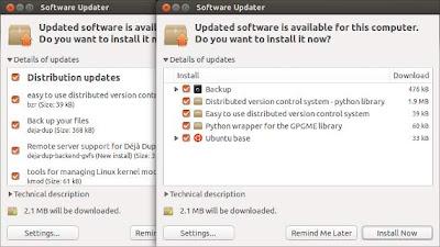 El gestor de actualizaciones recibe un lavado de cara en Ubuntu 13.04