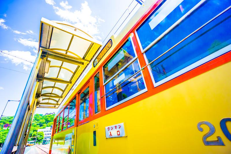 松山 路面電車 7