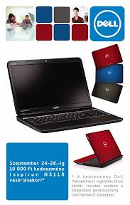 Dell reklám plakát tervezés.