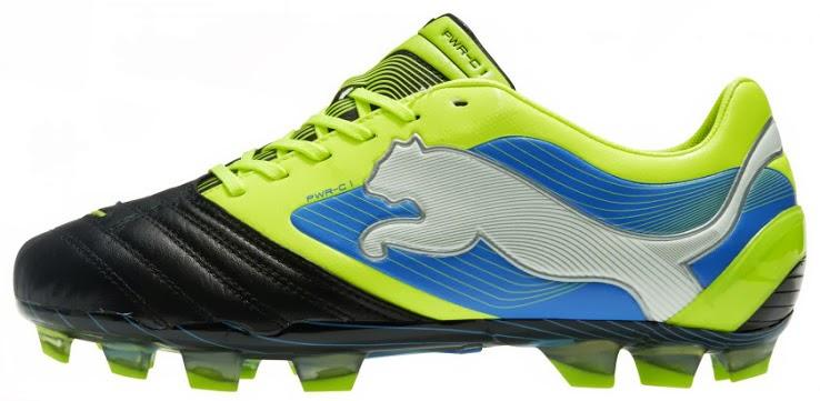 Puma Powercat 2013 boots 2.0 black, yellow green blue white