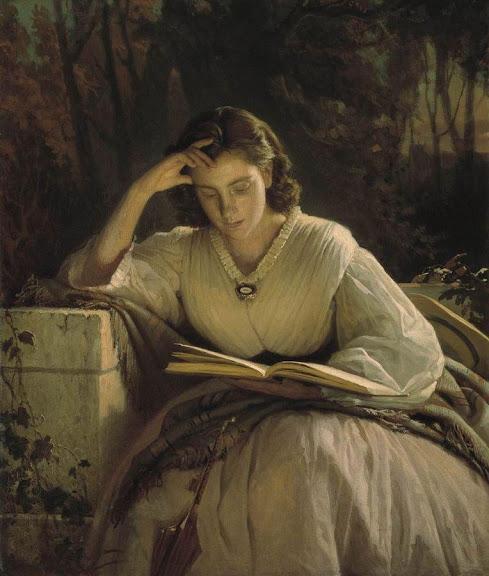 Ivan Kramskoy - Sophia Kramskaya Reading
