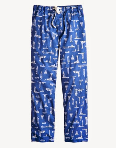 Lighthouse mens lounge pants PJ's by Joules