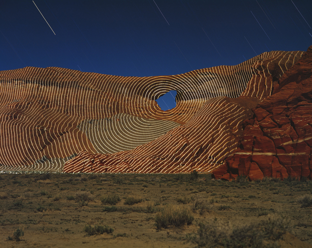 Jim Sanborn - Rough Rock, Arizona, 1996