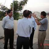 Demonstration of Amateur Radio Satellite communication to Mr Annadurai and Mr Raghavamurthy - DSC00132.JPG