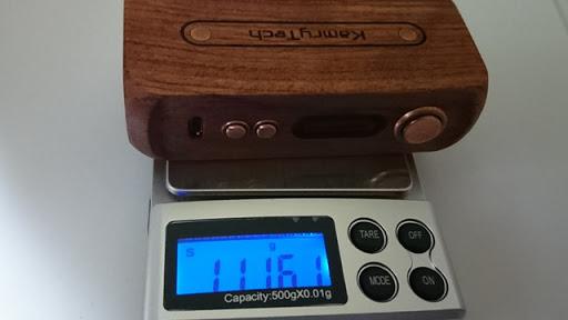 DSC 2223 thumb%25255B2%25255D - 【MOD】「Kamry 80W UTC ウッドBOX MOD」驚異のカムリー超コンパクト軽量MODレビュー!!軽いだけ、、いやそんなはずは、、【電子タバコ/軽量MOD】