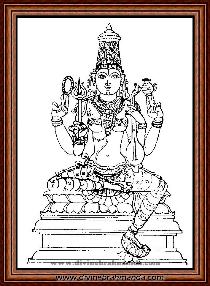 Soundarya Lahari Sloka, Yantra & Goddess To Get Relief From Poverty - 14