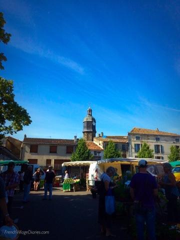 French Village Diaries #LazySundayinFrance Melle market