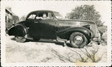 Here is my dear dad in 1939, sitting in his brand new 39 Chevy, he was 21.