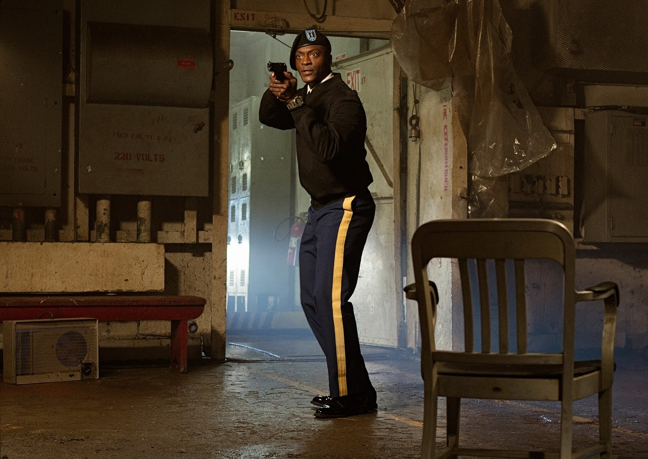 Aldis Hodge plays Espin in JACK REACHER: NEVER GO BACK from Paramount Pictures and Skydance Productions.