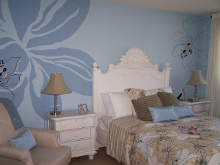 Bedroom Wall Stencils