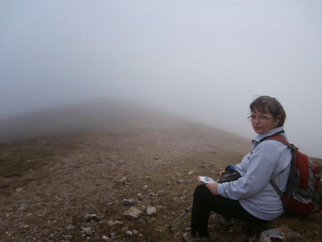 Paramos un rato a ver si se aclara la niebla