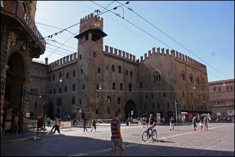 Palazzo dei Notai and Piazza Maggiore Bologna